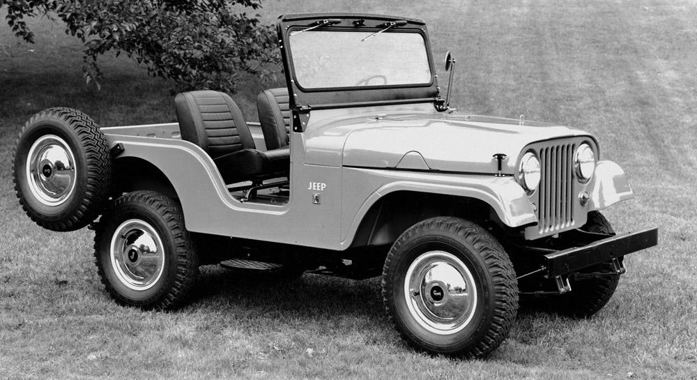 de la cj 2a au jeep wrangler petite histoire de la jeep. Black Bedroom Furniture Sets. Home Design Ideas
