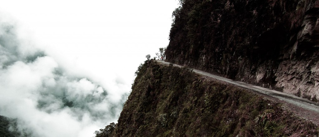 Death Road en Bolivie