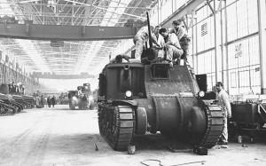 Chrysler Tank M3 Lee, 1942