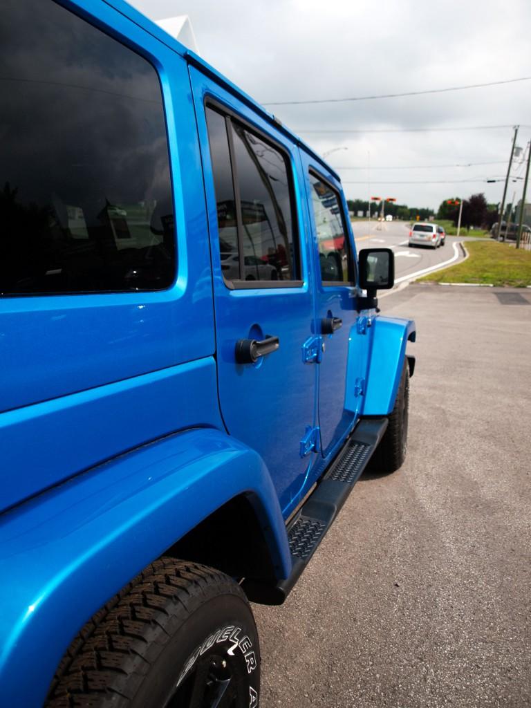 Jeep modifié