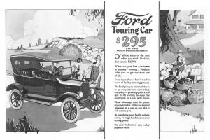 Publicité Ford T - 1925