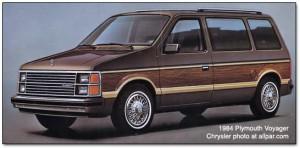 Le Chrysler Voyager de 1983