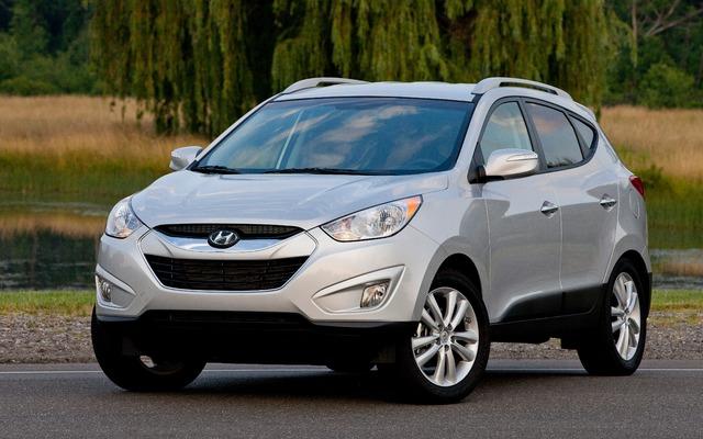 Hyundai Tuscon. Photo gracieuseté