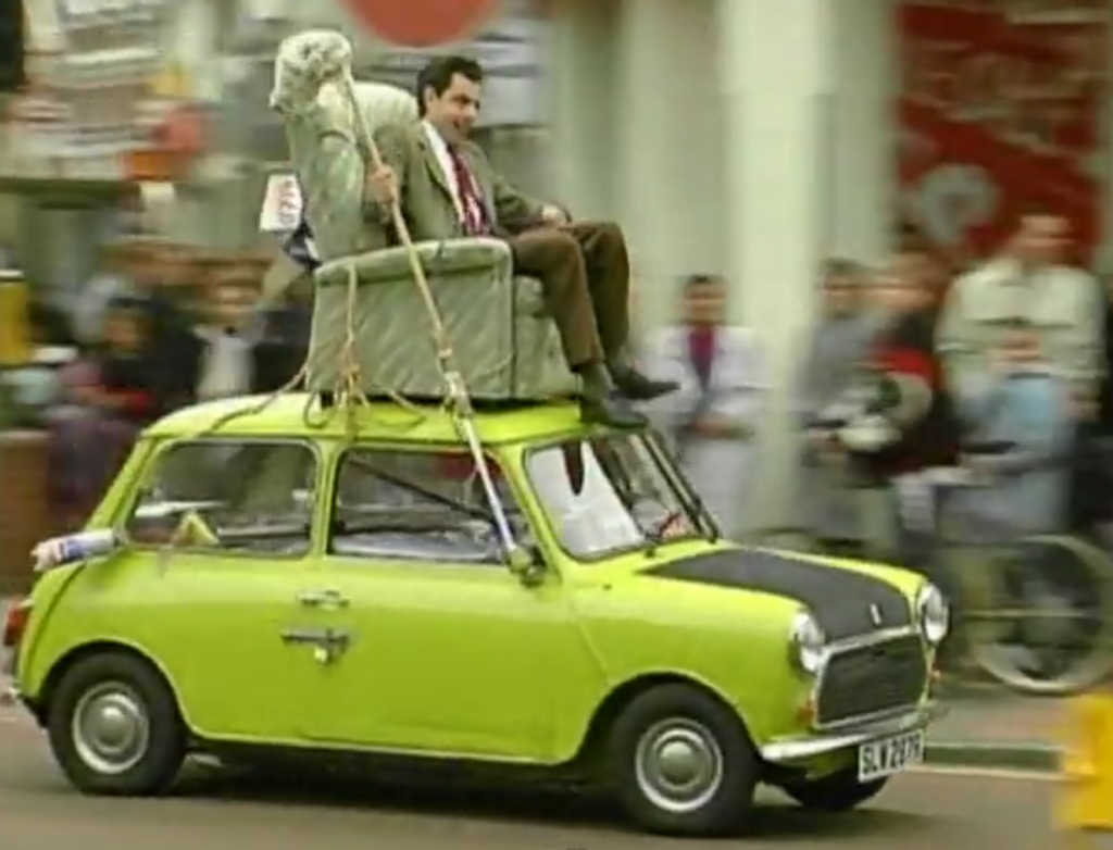 La voiture de Mr. Bean