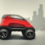 Nissan modélise des dessins d'enfant en voiture concept