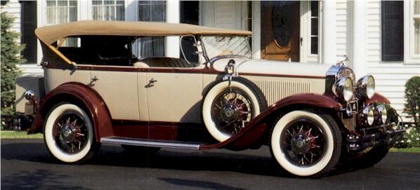 1930 Buick60 dual cowl phaeton