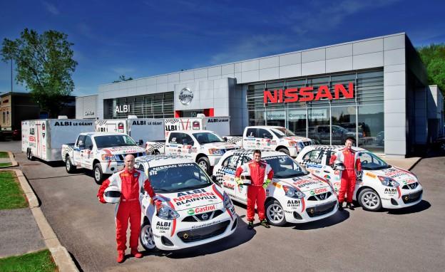 Équipe ALBI le Géant Coupe Nissan Micra