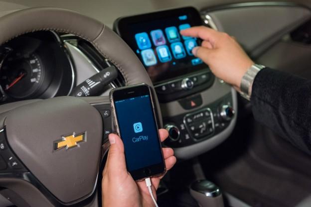 GM et les téléphones intelligents