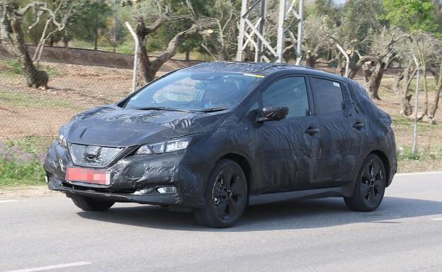 Nissan Leaf Spy