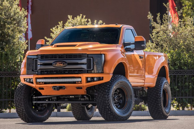 SEMA 2017: BDS Super Duty