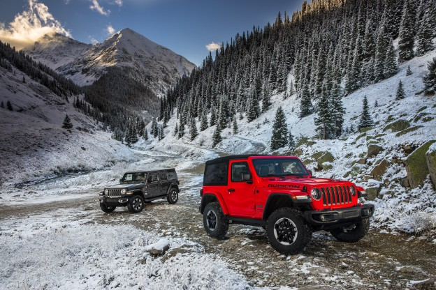 All-new 2018 Jeep® Wrangler Sahara and All-new 2018 Jeep® Wran