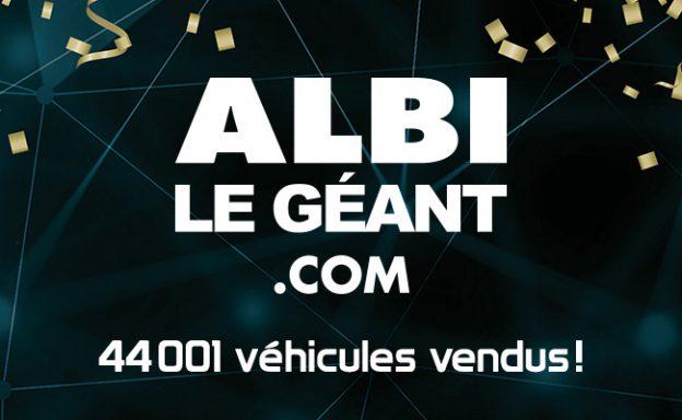 ALBI le Géant - 44001 véhicules vendus