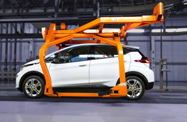 Pre-production for the all-new 2017 Chevrolet Bolt EV is underway.