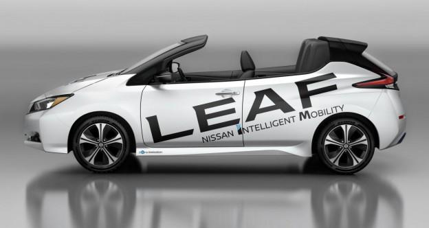Nissan leaf décapotable