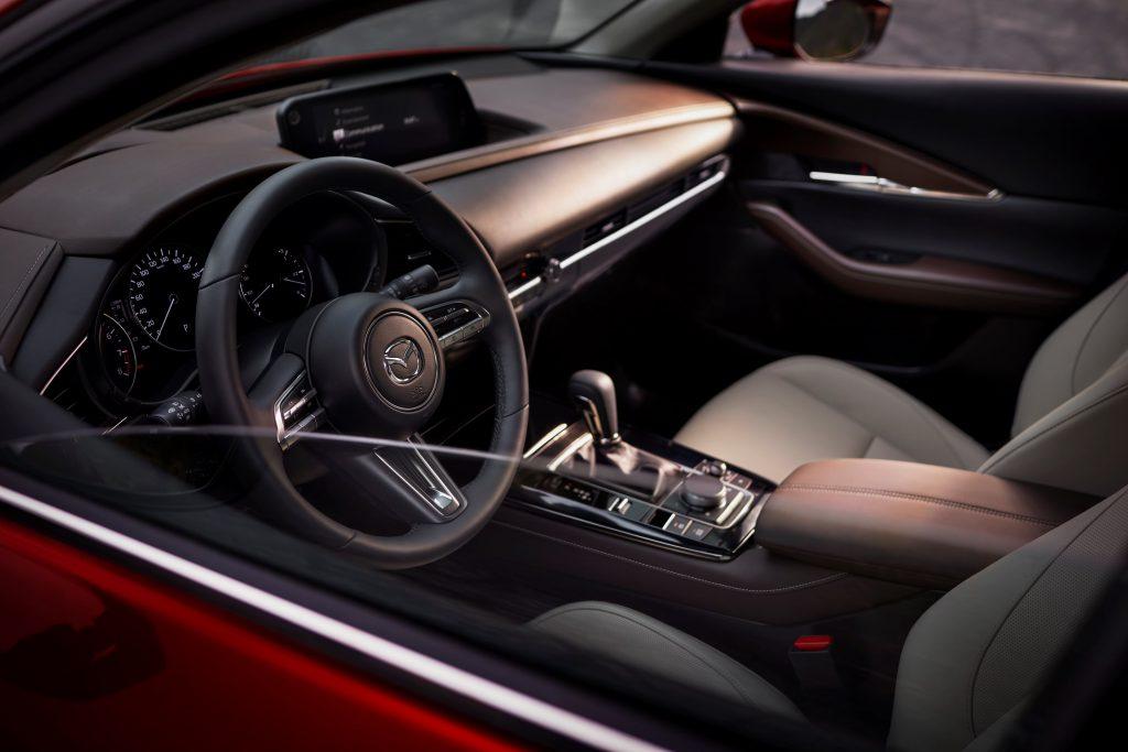 L'intérieur du nouvea Mazda CX-30