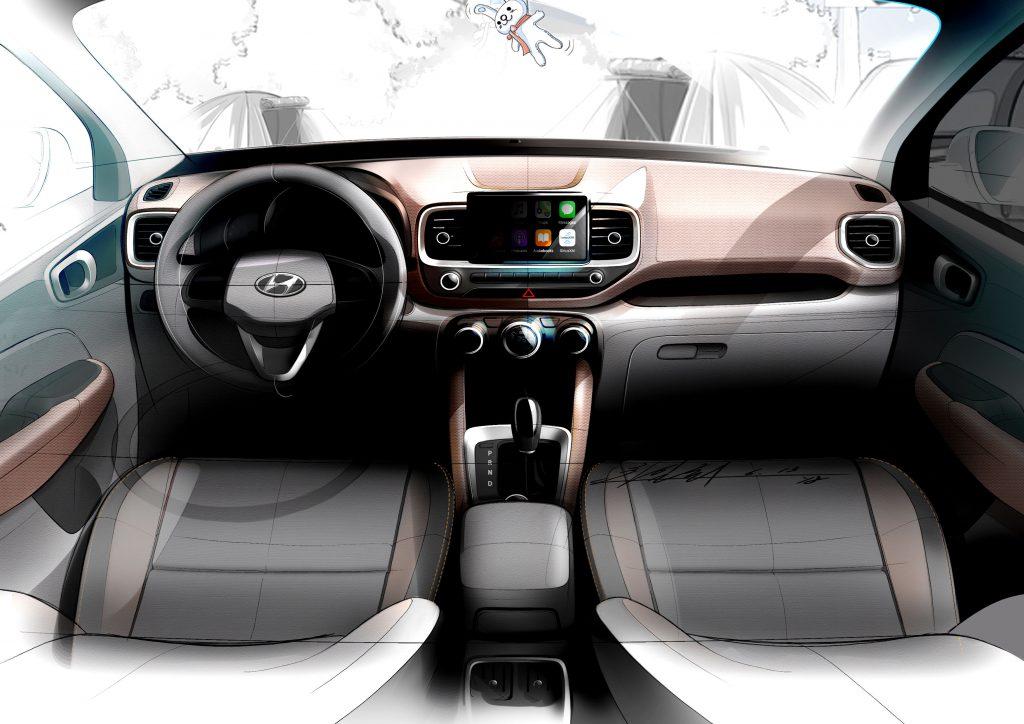 Hyundai Venue_interieur