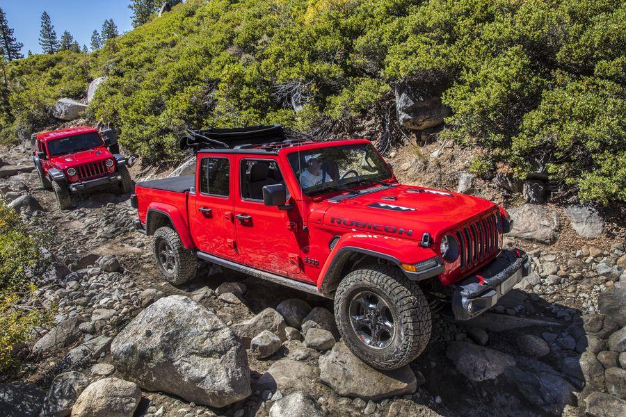 Jeep nord-américains de l'année