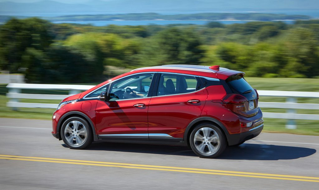 Top 5 des véhicules électriques : Chevrolet Bolt