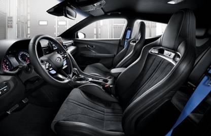 Siège Hyundai Veloster N