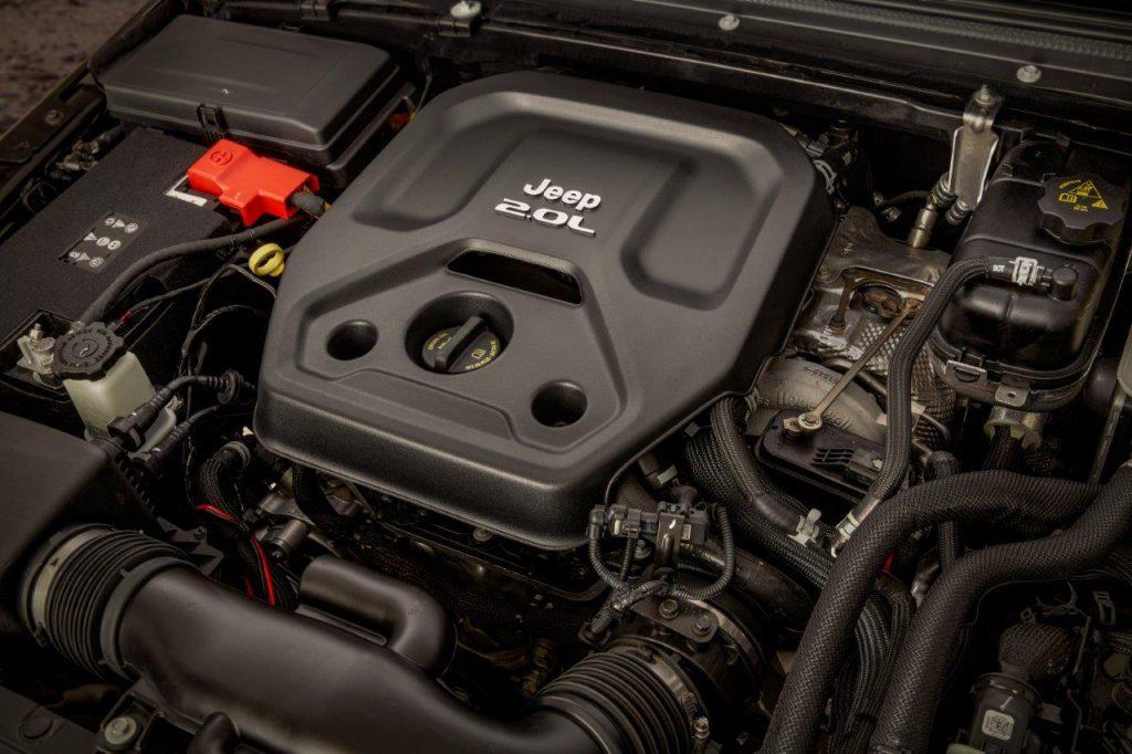 Mécanique de Jeep Wrangler 4Xe