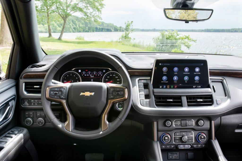 L'intérieur du Chevrolet Tahoe 2021