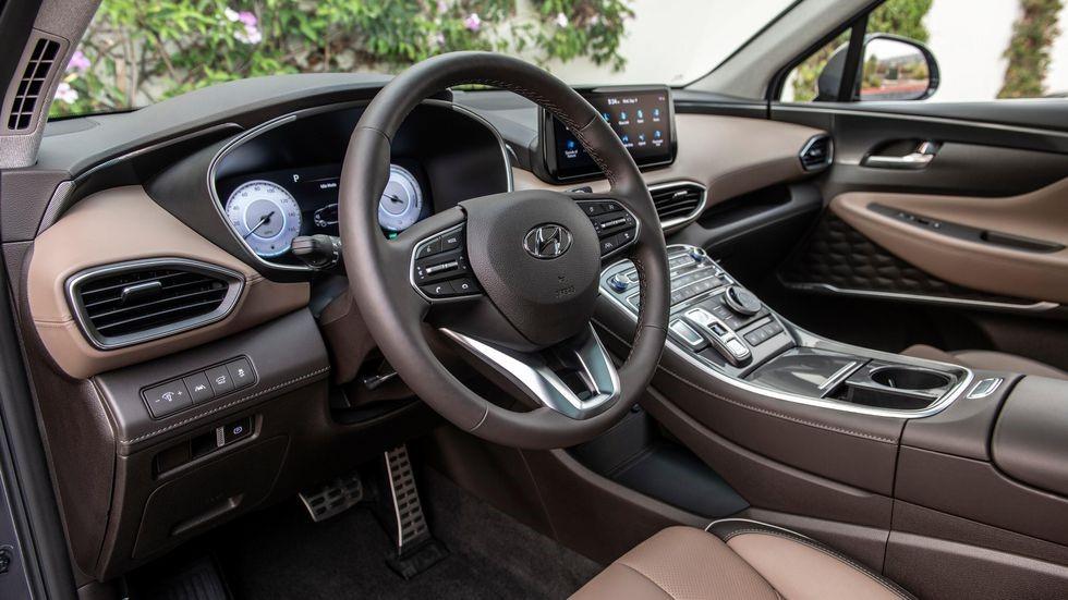 Intérieur Hyundai Santa Fe Hybride 2021